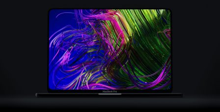 Rêvons un peu avec ce concept de MacBook Pro en vidéo: coins arrondis, Face ID et plus 1