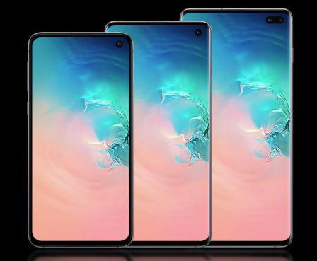 Face à l'iPhone XS/XR, de nombreux modèles de Galaxy S10 dévoilés par Samsung 2