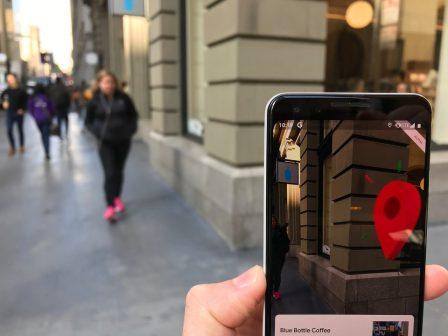 Google Maps en Réalité Augmentée, c'est comment? Un testeur nous raconte son essai 5