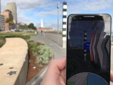 Google Maps en Réalité Augmentée, c'est comment? Un testeur nous raconte son essai 2
