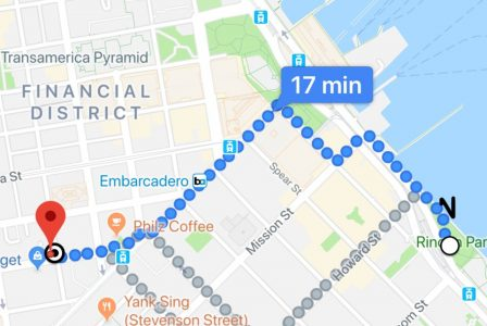 Google Maps en Réalité Augmentée, c'est comment? Un testeur nous raconte son essai 3