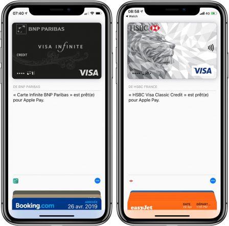 Les cartes bancaires des clients HSBC France et BNP désormais utilisables avec Apple Pay sur iPhone et Apple Watch 2