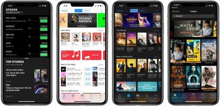 Des rendus pour imaginer un mode «sombre» d'iOS 13 sur iPhone 2019 5