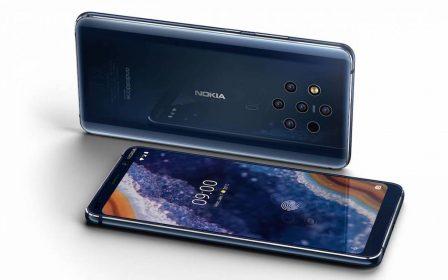 Nokia présente son smartphone aux 5 objectifs: Nokia 9 Pureview 2