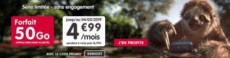 Nouvelle promo forfait NRJ Mobile: illimité + 50 Go à 4,99€/mois 2