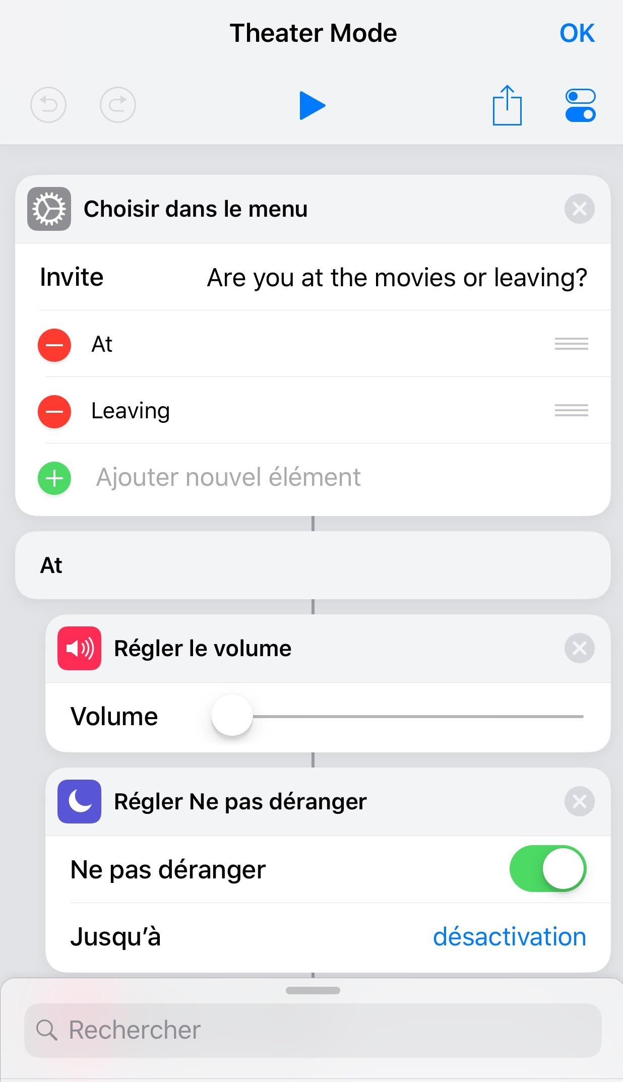 raccourci localisation iphone 7