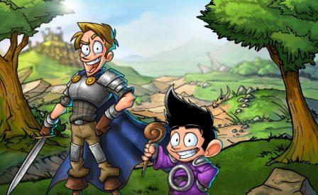 Shakes & Fidget: la BD devenue jeu iOS, dans un univers médiéval et humoristique (partenaire) 2