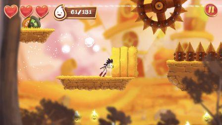 Test Spirit Roots: jeu de plateforme façon Rayman, graphismes séduisants et support des manettes iPhone, iPad 3