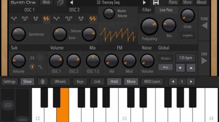 Après sa sortie iPad, le synthétiseur gratuit Synth One désormais compatible iPhone 4