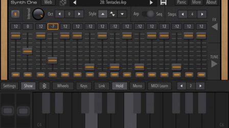 Après sa sortie iPad, le synthétiseur gratuit Synth One désormais compatible iPhone 3