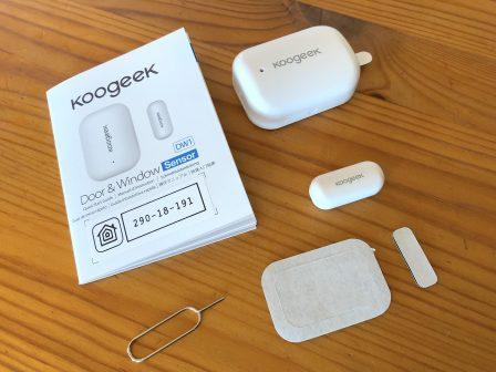 Avant son test: le capteur porte et fenêtre compatible HomeKit de Koogeek se dévoile en photos (et code promo -33%) 4