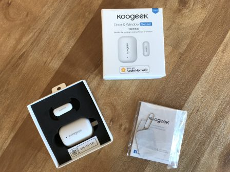 En promo flash - Test du capteur porte et fenêtre Koogeek: des alertes HomeKit pour le domicile 4