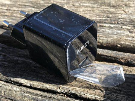 En promo flash - Test du chargeur USB-C 18W Aukey avec l'iPhone: ultra-compact et super rapide 4