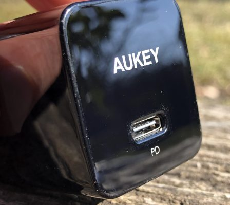 En promo flash - Test du chargeur USB-C 18W Aukey avec l'iPhone: ultra-compact et super rapide 6