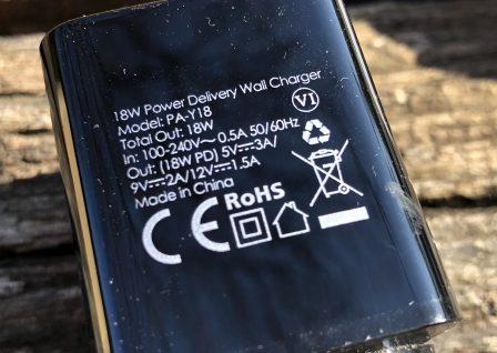 En promo flash - Test du chargeur USB-C 18W Aukey avec l'iPhone: ultra-compact et super rapide 5