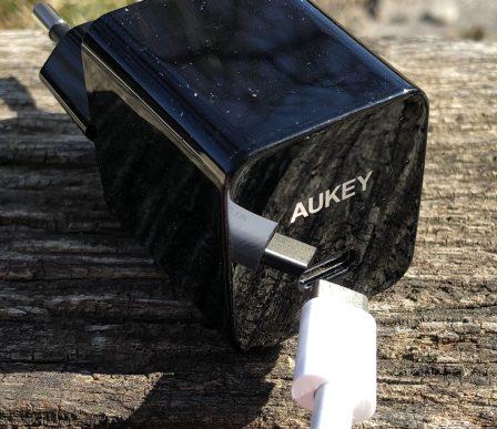 En promo flash - Test du chargeur USB-C 18W Aukey avec l'iPhone: ultra-compact et super rapide 9