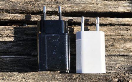 En promo flash - Test du chargeur USB-C 18W Aukey avec l'iPhone: ultra-compact et super rapide 8