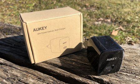 En promo flash - Test du chargeur USB-C 18W Aukey avec l'iPhone: ultra-compact et super rapide 3