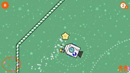 Test: du golf la tête dans les étoiles avec Little Comet, excellent jeu iOS pour petit et grands 2