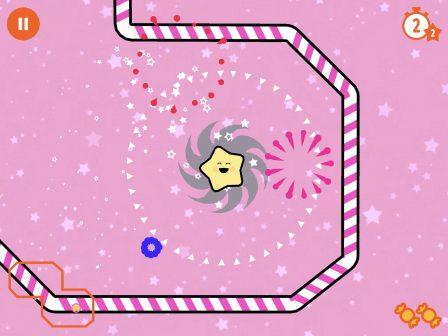 Test: du golf la tête dans les étoiles avec Little Comet, excellent jeu iOS pour petit et grands 3