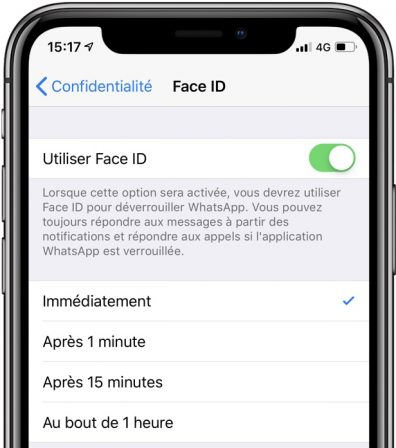 Aie, la protection biométrique de WhatsApp sur iOS pas complètement sécurisée 2