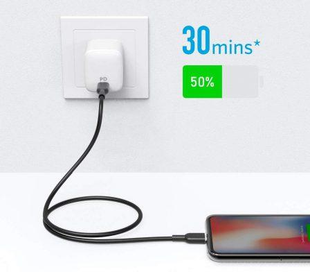 Premier câble Lightning / USB-C certifié MFi chez Anker: bien moins cher que celui d'Apple 2