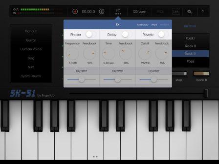 Le son des années 80 à portée de clavier virtuel: le SK-51 revit sur iPhone et iPad 3