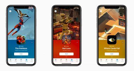 Apple prêt à investir près de 450 millions d'euros pour financer des jeux destinés à son service Arcade 2