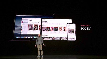 """Résumé complet du keynote """"It's Show Time"""" d'Apple: nouveaux services jeux en illimité, carte de crédit virtuelle, Apple TV+, News+ et plus! 8"""