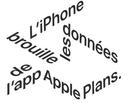 Protection vie privée: même dans Apple Plans, Apple évite soigneusement de savoir où l'on va! 2