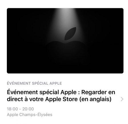 La conférence Apple de ce lundi sera diffusée dans certains Apple Store 2