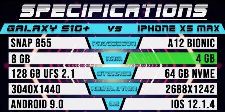 Ça y est, le dernier Samsung bat le dernier iPhone: match de vitesse S10+ contre XS Max (vidéo) 3