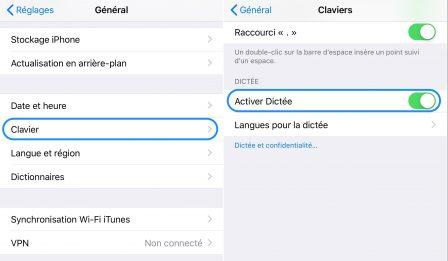 """iOS en pratique: comment retirer le bouton """"Micro"""" du clavier iPhone virtuel 2"""