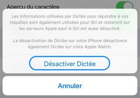 """iOS en pratique: comment retirer le bouton """"Micro"""" du clavier iPhone virtuel 3"""