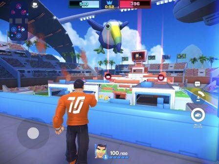Tirs et combats d'arène acharnés dans le nouveau Frag Pro Shooter sorti sur iPhone, iPad 2