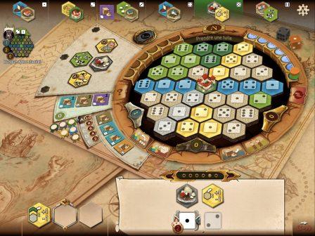 Gestion, stratégie, commerce et coups bas, Le jeu de plateau des Châteaux de Bourgogne adapté sur iOS 3