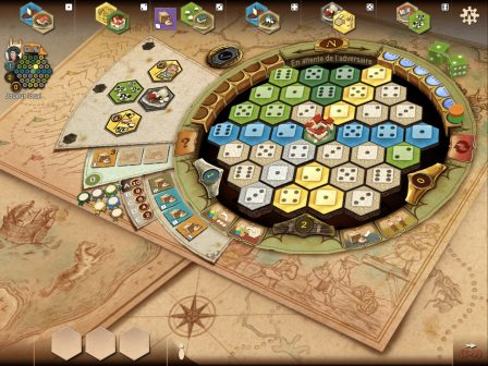 Gestion, stratégie, commerce et coups bas, Le jeu de plateau des Châteaux de Bourgogne adapté sur iOS 2