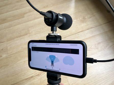 Test du micro Shure MV88+: un son de qualité avec retour audio via la prise Lightning ou USB-C 7