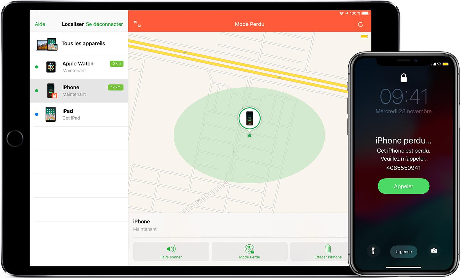 iCloud: Localiser votre appareil grâce à Localiser mon iPhone