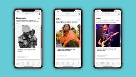 """La mise à jour de l'app Apple Store met en avant les sessions """"Today at Apple"""" pour faciliter la participation 2"""