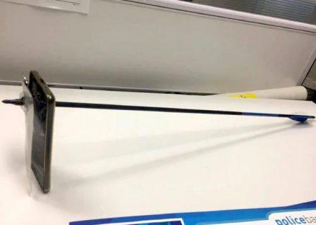L'iPhone peut aussi protéger... Des flèches! 2
