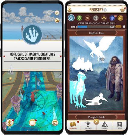 Premières images du jeu Harry Potter Wizard Unite, le Harry Potter version Pokémon GO de Niantic 3