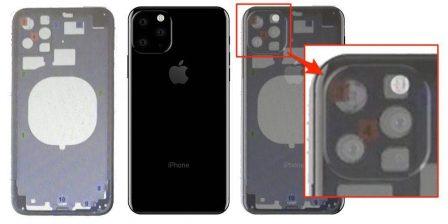 Nouvel iPhone 2019: première fuite de schéma, avec un arrière modifié? 3