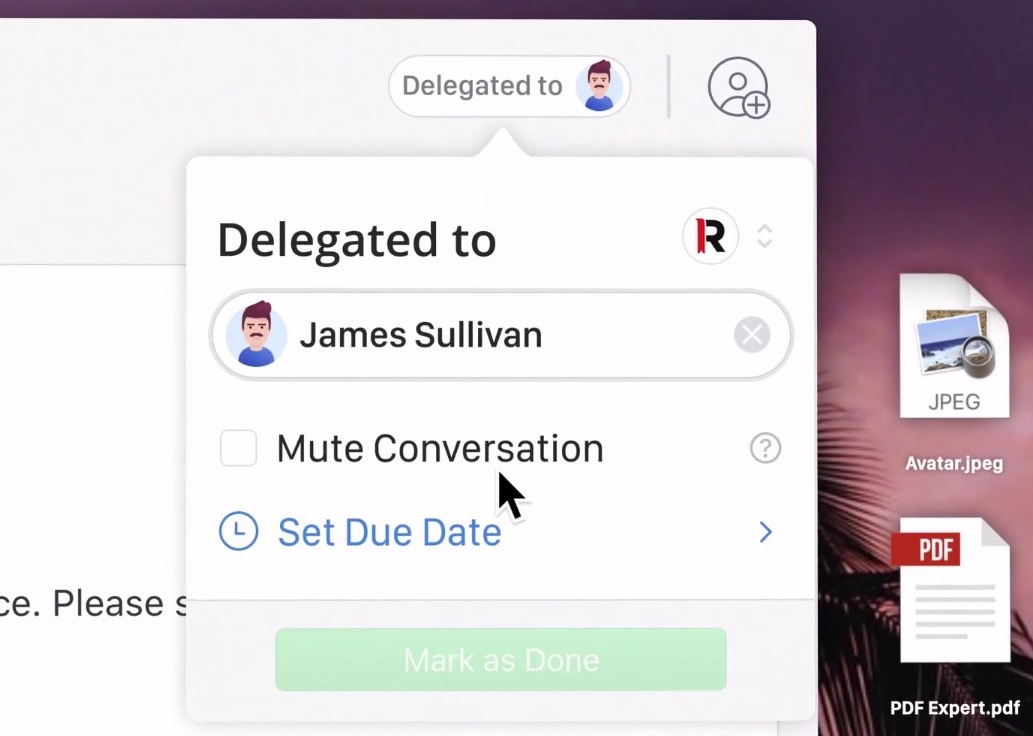 L'outil mail Spark Mac et iOS s'enrichit de la délégation d