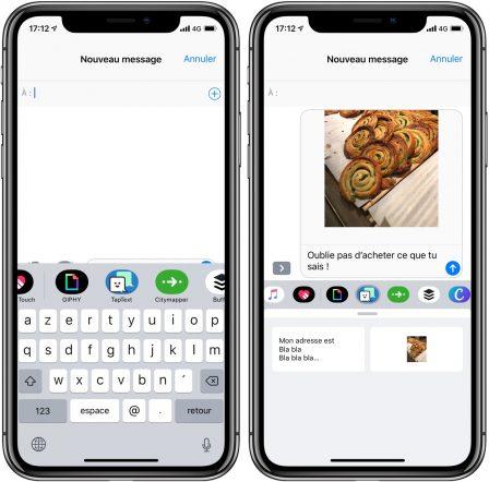 TapText: ses phrases et images préférées à portée de main pour des envois fréquents par Message (gratuit) 3