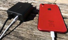 Code promo dispo. / Test du chargeur mural Aukey: deux prises USB-C et USB-A, 56 W (pour recharge rapide iPhone + pour iPad et Mac) 2