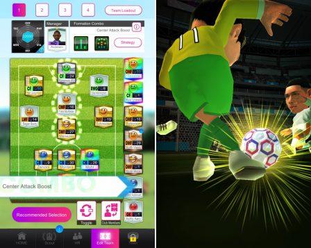 Sega mêle jeu de rôle et gestion de foot, dans Pocket Club Manager, nouveau jeu iPhone, iPad 3