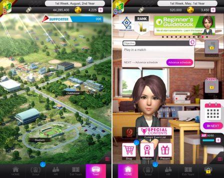 Sega mêle jeu de rôle et gestion de foot, dans Pocket Club Manager, nouveau jeu iPhone, iPad 4