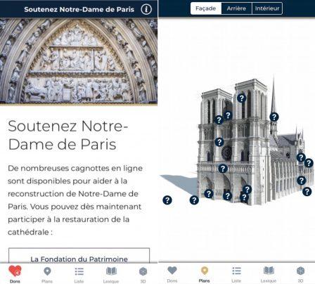 L'appli Notre-Dame revient sur l'App Store, pour redécouvrir la cathédrale sous tous ses angles 3