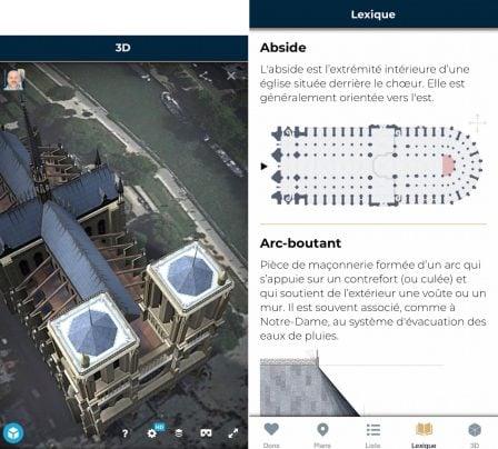 L'appli Notre-Dame revient sur l'App Store, pour redécouvrir la cathédrale sous tous ses angles 2